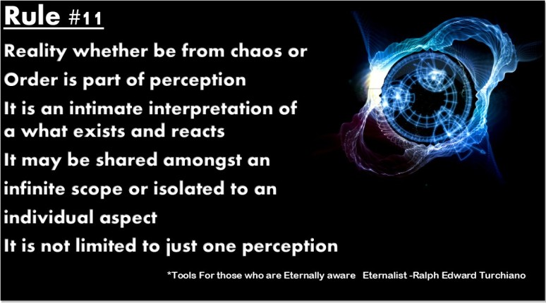 Tools For those who are Eternally aware   Eternalist -Ralph Edward Turchiano