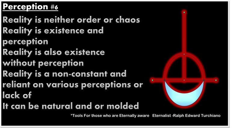 Tools For those who are Eternally aware   Eternalist -Ralph Edward Turchiano Apeirophobia