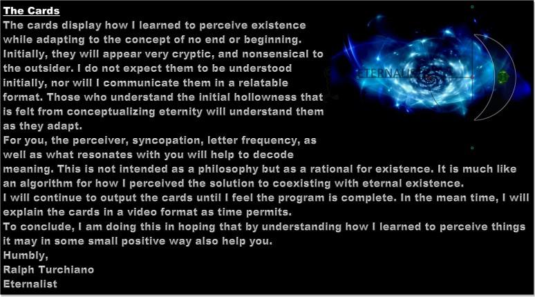 Eternity, Fear,Phobia, time, infinity, Apeirophobia, eternal, Ralph Turchiano,