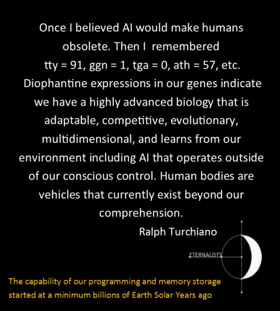 AlienGeneticCodingDNA Ralph Turchiano